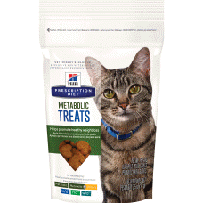 Hill's Prescription Diet Metabolic Feline Treats 3828