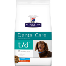Hill's Prescription Diet t/d Canine Small Bites Chicken 4005