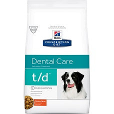 Hill's Prescription Diet t/d Canine Original Bite Chicken 4013 at NJPetSupply.com