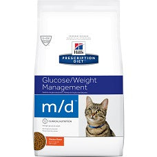 Hill's Prescription Diet m/d Feline Chicken 4273