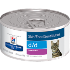 Hill's Prescription Diet d/d Feline Duck Formula 5364