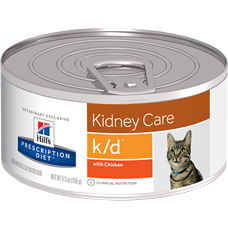 Hill's Prescription Diet k/d Feline with Chicken Pate 9453 at NJPetSupply.com