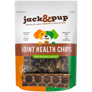 Jack & Pup Joint Health Beef Jerky Chips, 2.9-oz at NJPetSupply.com