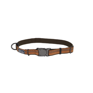 "Coastal K9 Explorer Reflective Collar 12"" - 5/8"" Campfire Orange"