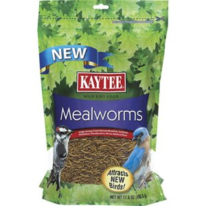 Kaytee Dried Mealworms Treats for Reptiles, Birds, Turtles and Chickens at NJPetSupply.com
