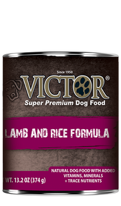 Victor Lamb & Rice Formula Pate Canned Wet Dog Food at NJPetSupply.com
