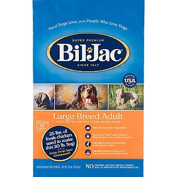 Bil Jac Select Adult Large Breed Dry Dog Food 15 Pound Bag at NJPetSupply.com