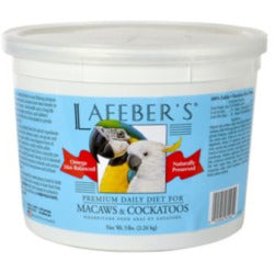 Lafeber's Macaw & Cockatoo Pet Bird Daily Diet 5-lb at NJPetSupply.com