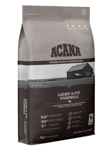 Acana Heritage Light & Fit Dry Dog Food