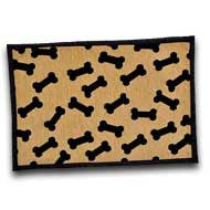Loving Pets Bella Fashion Mat, Dancing Bones
