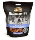 Merrick Grain Free Backcountry Wild Fields Real Chicken Sausage Cuts at NJPetSupply.com