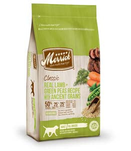 Merrick Classic Real Lamb and Green Peas Recipe Dry Dog Food 12-lb at NJPetSupply.com