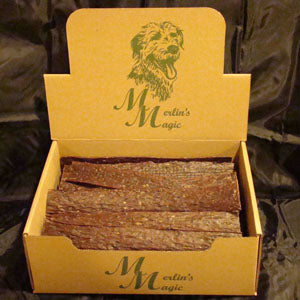 "Merlin's Magic USA Beef Jerky 12"" at NJPetSupply.com"
