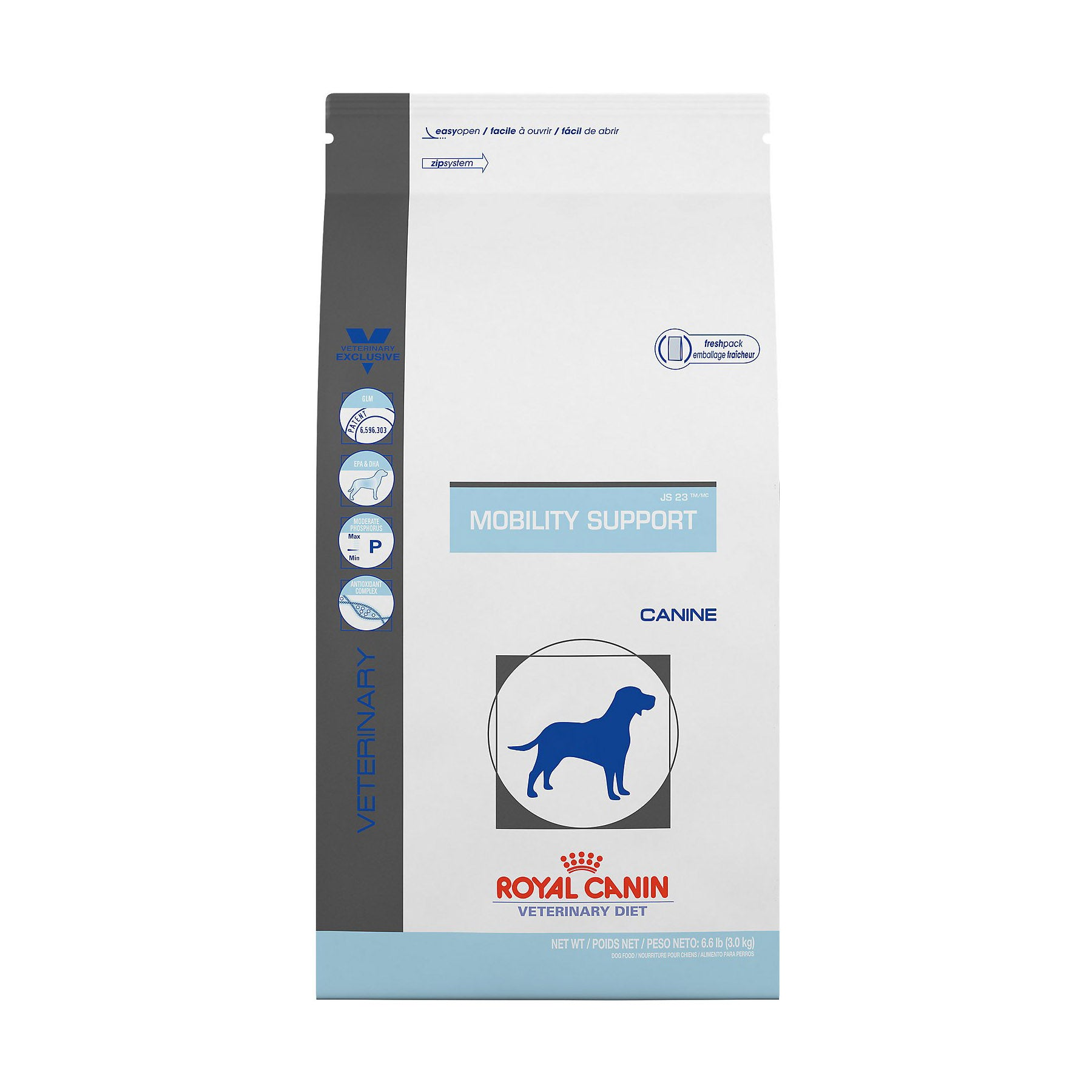 Royal Canin Veterinary Diet Canine Mobility Support JS Dry Dog Food at NJPetSupply.com
