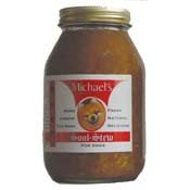 Michael's Soul Stew Beef Wet Dog Food in Glass Jar, 32-oz at NJPetSupply.com