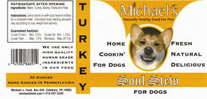 Michael's Soul Stew Turkey, 32oz Jar