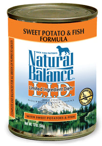 Natural Balance LID Fish & Sweet Potato Canned Dog Food