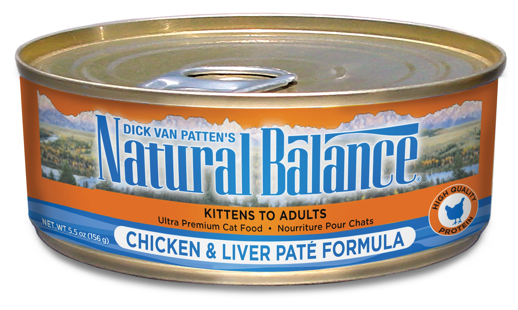 Natural Balance Ultra Premium Chicken & Liver Pate Canned Wet Cat Food 5.5-oz at NJPetSupply.com