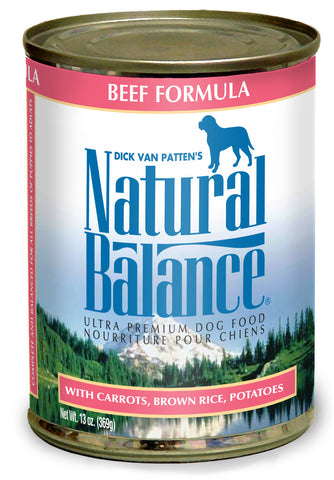 Natural Balance Ultra Premium Beef Canned Dog Food