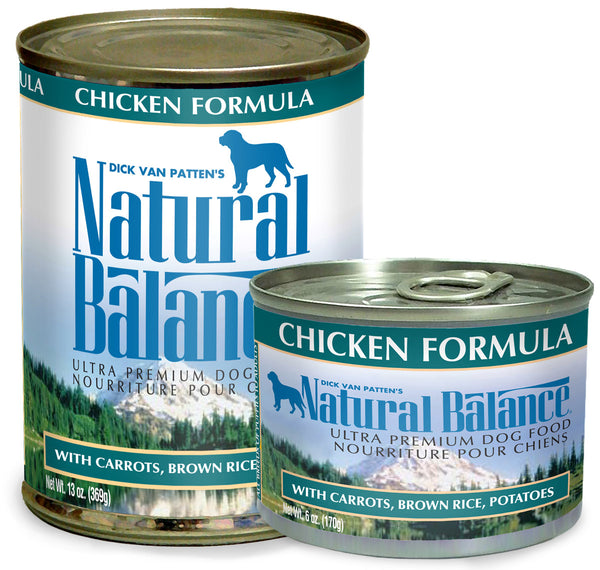 Natural Balance Ultra Premium Chicken Canned Wet Dog Food at NJPetSupply.com