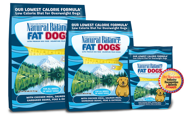 Natural Balance Fat Dogs Low Calorie Dry Dog Food at NJPetSupply.com