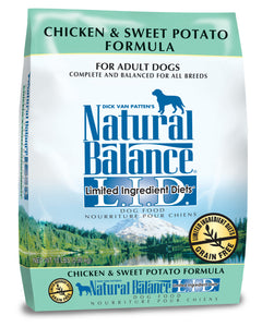 Natural Balance L.I.D. Sweet Potato & Chicken Dry Dog Food