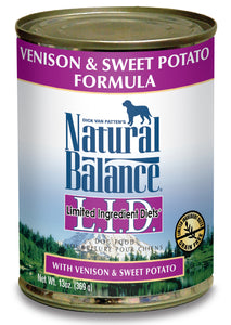 Natural Balance LID Venison & Sweet Potato Canned Dog Food