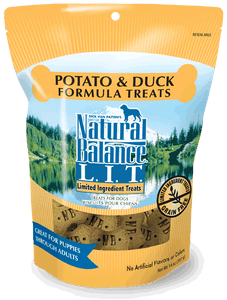 Natural Balance L.I.T. Limited Ingredient Treats Potato & Duck Formula