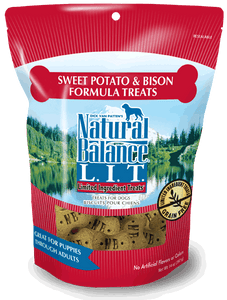 Natural Balance L.I.T. Limited Ingredient Treats Sweet Potato & Bison Formula
