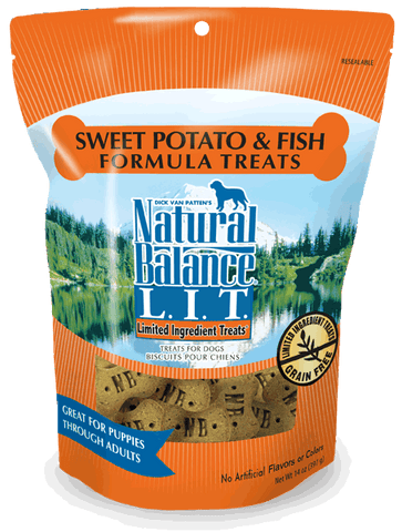 Natural Balance L.I.T. Limited Ingredient Treats Sweet Potato & Fish Formula