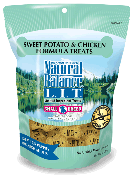 Natural Balance L.I.D. Limited Ingredient Treats Sweet Potato & Chicken Formula 14-oz at NJPetSupply.com