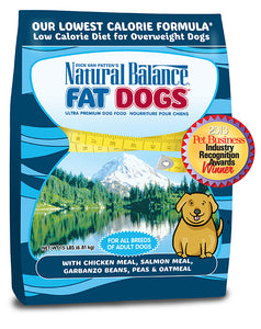Natural Balance Fat Dogs Low Calorie Dry Dog Food 15-lb Bag at NJPetSupply.com