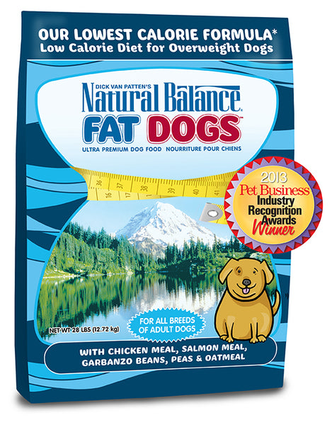 Natural Balance Fat Dogs Low Calorie Dry Dog Food 28-lb Bag at NJPetSupply.com