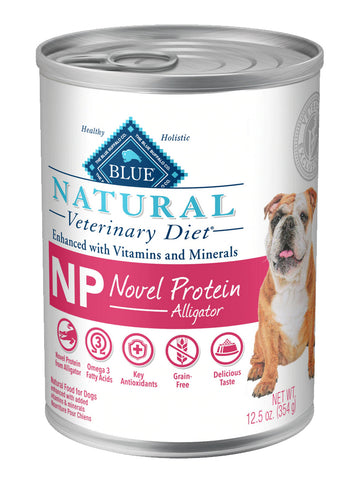 BLUE Natural Veterinary Diet NP Novel Protein Wet Dog Food