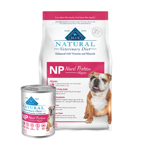 Blue Natural Veterinary Diet NP Novel Protein Alligator Dry Dog Food