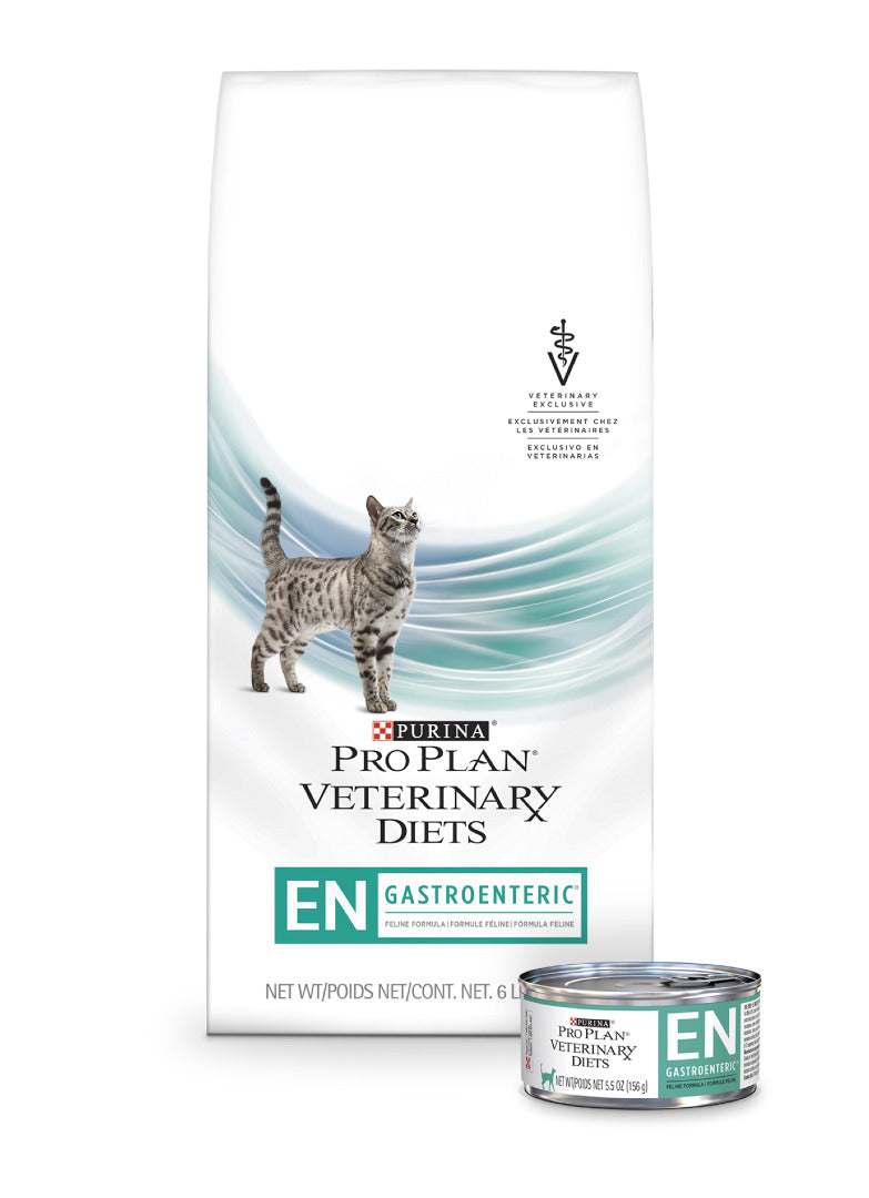 Purina Pro Plan Veterinary Diet EN Gastroenteric Feline Formula Dry Cat Food at NJPetSupply.com