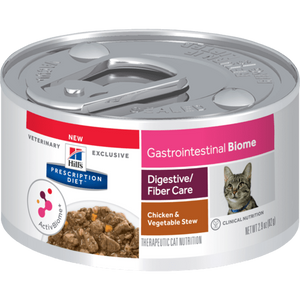 Hill's Prescription Diet Gastrointestinal Biome Digestive/Fiber Care Chicken & Vegetable Stew Canned Wet Cat Food at NJPetSupply.com