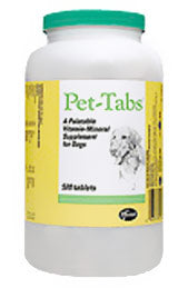 Pet Tabs Vitamin Mineral Supplement for Dogs 180-count at NJPetSupply.com
