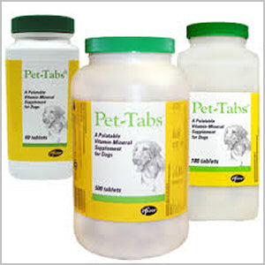Pet Tabs Vitamin Mineral Supplement for Dogs at NJPetSupply.com
