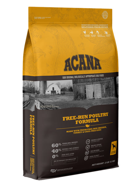 Acana Heritage Free-Run Poultry Dry Dog Food