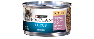 Pro Plan Focus Kitten Salmon and Fish Canned Cat Food