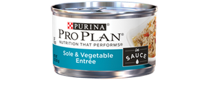 Pro Plan Savor Adult Sole and Vegetable Entree in Sauce