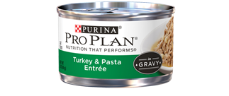 Pro Plan Savor Adult Turkey and Pasta Entree