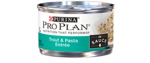 Pro Plan Savor Adult Trout and Pasta Entree in Sauce