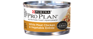 Pro Plan Savor Adult Whitemeat Chicken and Vegetable Entree in Gravy