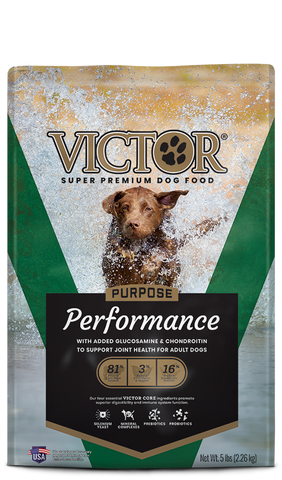 Victor Purpose Performance Dry Dog Food at NJPetSupply.com