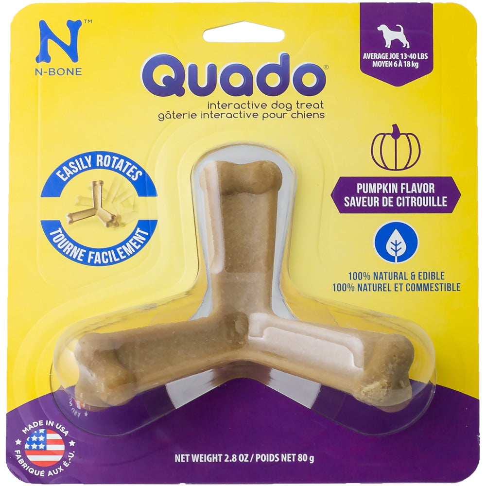 Quado Interactive Dog Treat - Pumpkin at NJPetSupply.com
