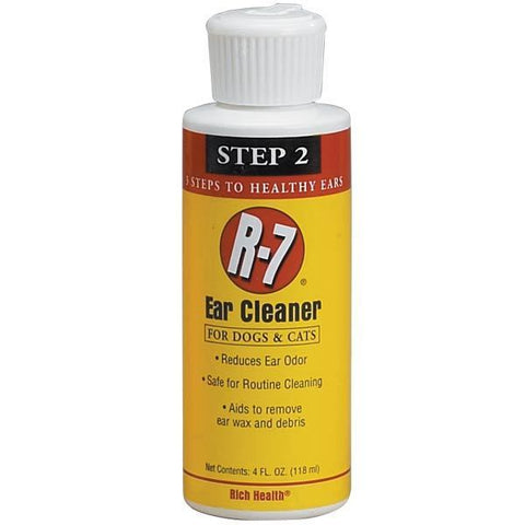 Rich Health R-7 Ear Cleaner for Grooming Dogs and Cats at NJPetSupply.com