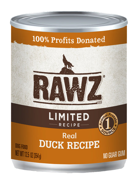 RAWZ Limited Ingredient Diet Duck Wet Dog Food