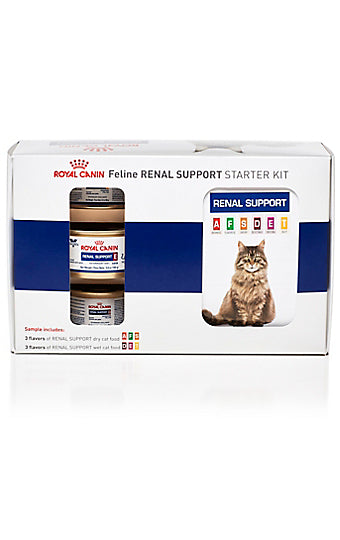 Royal Canin Veterinary Diet Feline Renal Support Starter Kit at NJPetSupply.com